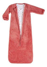 Dreambee Sac de couchage 4 saisons Essentials coeur coton/polyester rose 100 cm-Avant