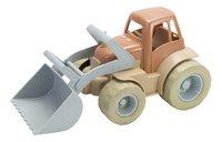 Dantoy Tractor bioplastic-Vooraanzicht