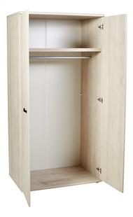Armoire 2 portes Olivia décor chêne-Détail de l'article