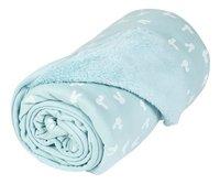 Dreambee Couverture pour berceau ou parc Nino menthe soft fleece-Détail de l'article
