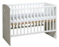 Sauthon Lit de bébé Ana L 120 x Lg 60 cm