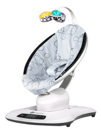 4moms Balancelle pour bébé mamaRoo 4 silver plush grey-commercieel beeld
