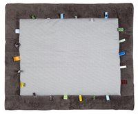Snoozebaby Tapis pour parc Cheerful Playing storm grey