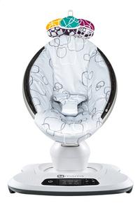 4moms Balancelle pour bébé mamaRoo 4 silver plush grey-Avant