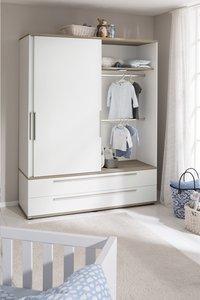 PAIDI Armoire 2 portes et 2 tiroirs Carlo pin-Image 1