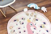 Play&Go Sac de rangement/couverture de jeu Soft Paon-Image 3