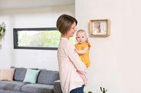 Baby Art Fotokader met gipsafdruk Deep frame wooden wit-Afbeelding 2