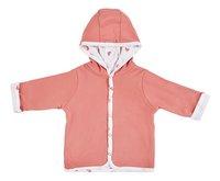Dreambee Cardigan Essentials coeur rose taille 74/80-Avant
