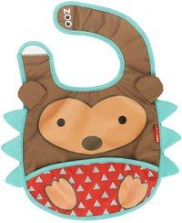 Skip*Hop Slabbetje Zoo met velcrosluiting Hedgehog-Vooraanzicht