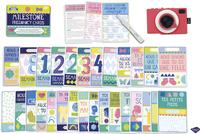 Milestone Pregnancy Cards-Vue du haut