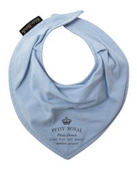Elodie Details Slabbetje/bandana Petit Royal Blue met drukknoppen blue