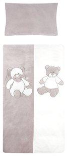 Vaco Dekbedovertrek voor bed Honey & Bunny polyester B 100 x L 140 cm-Vooraanzicht