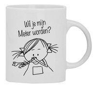 Mok Rube & Rutje 'Wil je mijn meter worden?'-Vooraanzicht