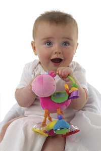 Playgro Rammelaar Clopette Activity Rattle-Afbeelding 2