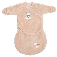 Dreambee Winterslaapzak Niyu fleece softy roze 60 cm