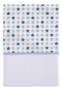 Little Dutch Drap pour berceau Mixed Stars mint coton