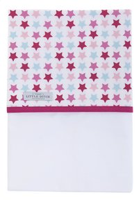Little Dutch Laken voor wieg Mixed Stars pink katoen
