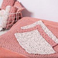 bébé-jou Washandje Fabulous Swan roze - 3 stuks-Afbeelding 1