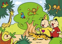 Puzzel Bumba In de jungle-commercieel beeld