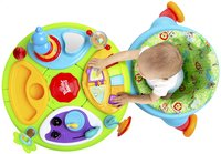 Bright Starts table d'activités Activity Center Zippity Zoo 3-in-1 Around We Go!-Vue du haut