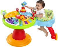 Bright Starts activiteitentafel Activity Center Zippity Zoo 3-in-1 Around We Go!-Afbeelding 1