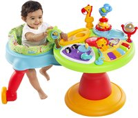 Bright Starts activiteitentafel Activity Center Zippity Zoo 3-in-1 Around We Go!-Afbeelding 4