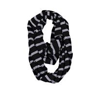 Itzy Ritzy Châle/écharpe d'allaitement Nursing Happens Infinity platinium stripe-Avant
