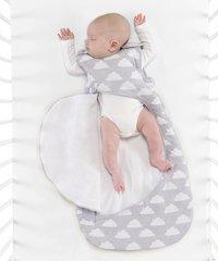 Snüz Sac de couchage 4 saisons SnuzPouch coton cloud nine gris 86 cm-Image 3