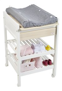 Troll table langer loft duo blanc dreambaby - Table a langer murale troll ...
