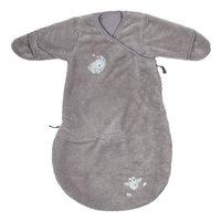Dreambee Winterslaapzak Lila & Lou Lou soft fleece grijs 60 cm-Vooraanzicht