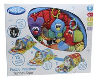 Playgro tapis de jeu/tunnel Puppy Playtime Tunnel Gym-Avant
