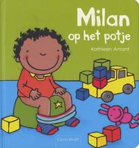 Milan op het potje - Kathleen Amant-Vooraanzicht