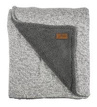 Jollein Couverture pour lit stonewashed grey polaire