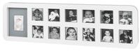 Baby Art Cadre avec empreinte First Year Print Frame blanc