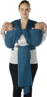 Babylonia Écharpe de portage tissée BB-Slen campanula blue-Détail de l'article