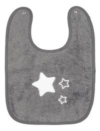 Dreambee Bavoir Essentials à pression gris/aqua - 2 pièces-Détail de l'article