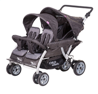 Childwheels Poussette évolutive Quadruple 2 anthracite