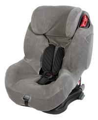 Dreambee Housse d'été Essentials pour siège-auto groupe 1/2/3 gris-Côté droit