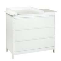 Troll Commode Lukas décor blanc-Avant