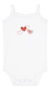 Dreambee Body à manches courtes Essentials coeur rose - 3 pièces-Détail de l'article