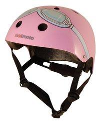 kiddi moto Casque vélo pour enfant Pink Goggle 48 - 52 cm