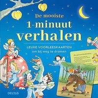Boek De mooiste 1 minuutverhalen - Leuke voorleeskaarten-Vooraanzicht