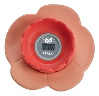 Béaba Digitale badthermometer Lotus koraal-Vooraanzicht