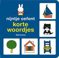 Boek Nijntje oefent korte woordjes - Dick Bruna-Vooraanzicht