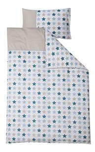 Little Dutch Housse de couette pour lit Mixed Stars mint coton