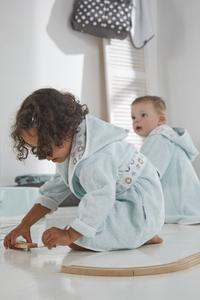 bébé-jou Sortie de bain Owl Family vert menthe taille 86/92-Image 1
