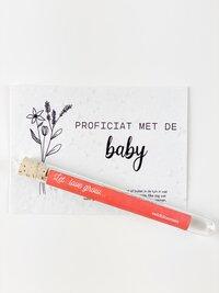 Minimou Wishes in a Tube - Proficiat met de baby