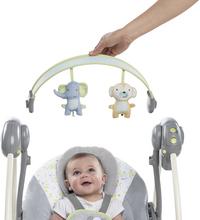 Ingenuity Babyswing Portable Swing buzzy bloom-Afbeelding 3