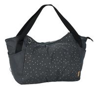 Lässig Sac à langer Casual Twin bag triangle dark grey