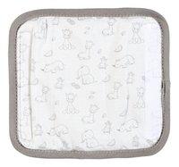 Dreambee Gordelbeschermer Tobi grijs/wit-Achteraanzicht